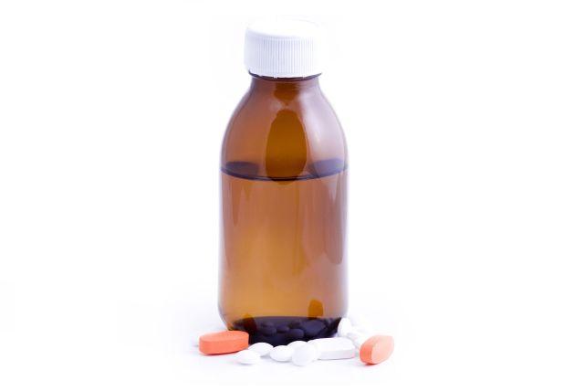 Syrop, tabletki