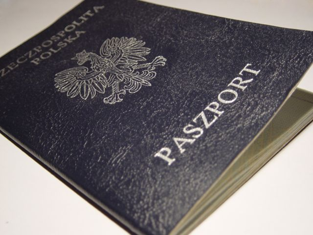 Stary paszport