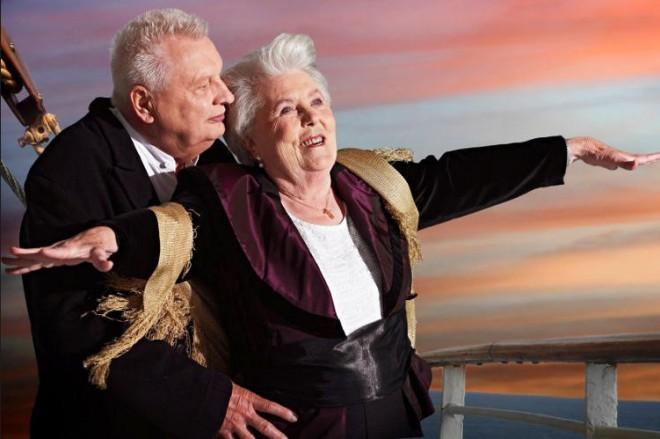 Scena z Titanica