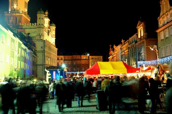 Poznań - świąteczny jarmark