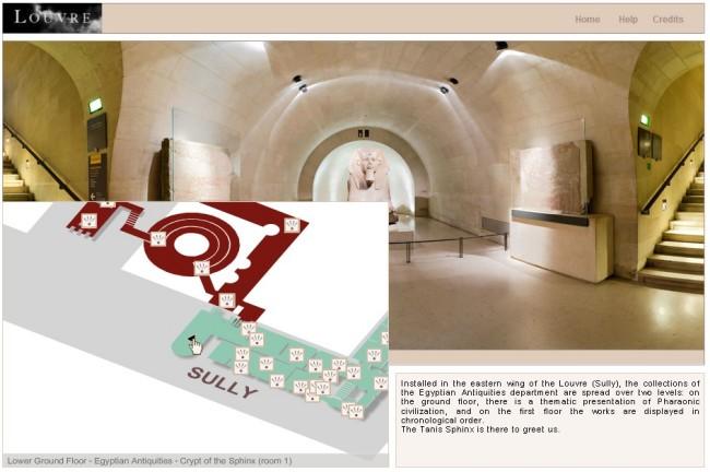 Wirtualne muzeum Luwr
