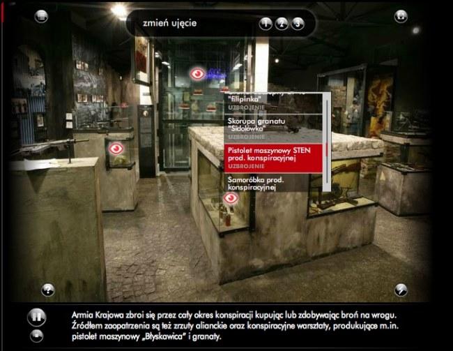 wycieczka po wirtualnym muzeum