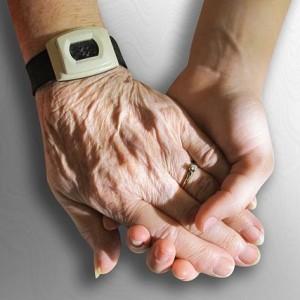 zegarek senior ręce
