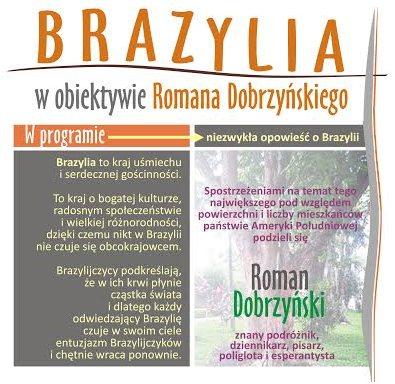 Brazylia w obiektywnie Dobrzyńskiego