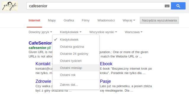 funkcje google