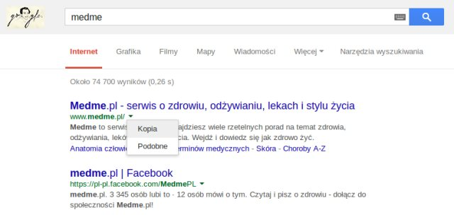 pamięć google