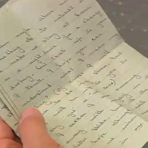 List odkryty po latach