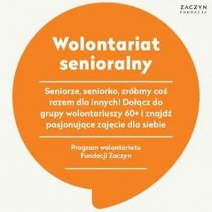 wolontariat senioralny