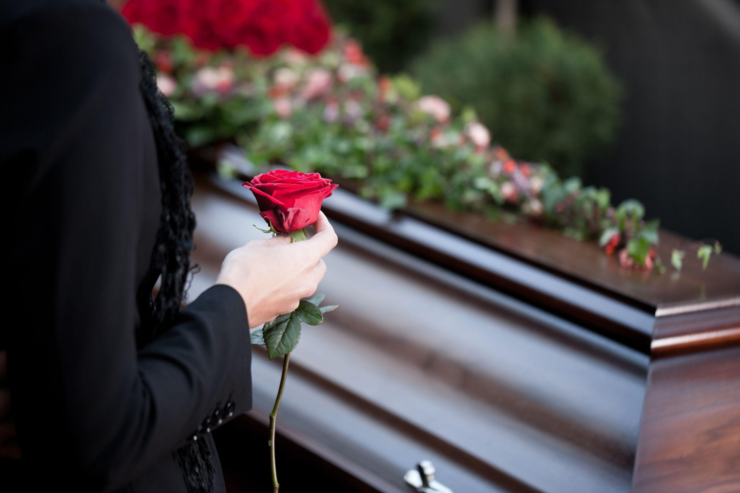 Ostatnie pożegnanie zmarłego