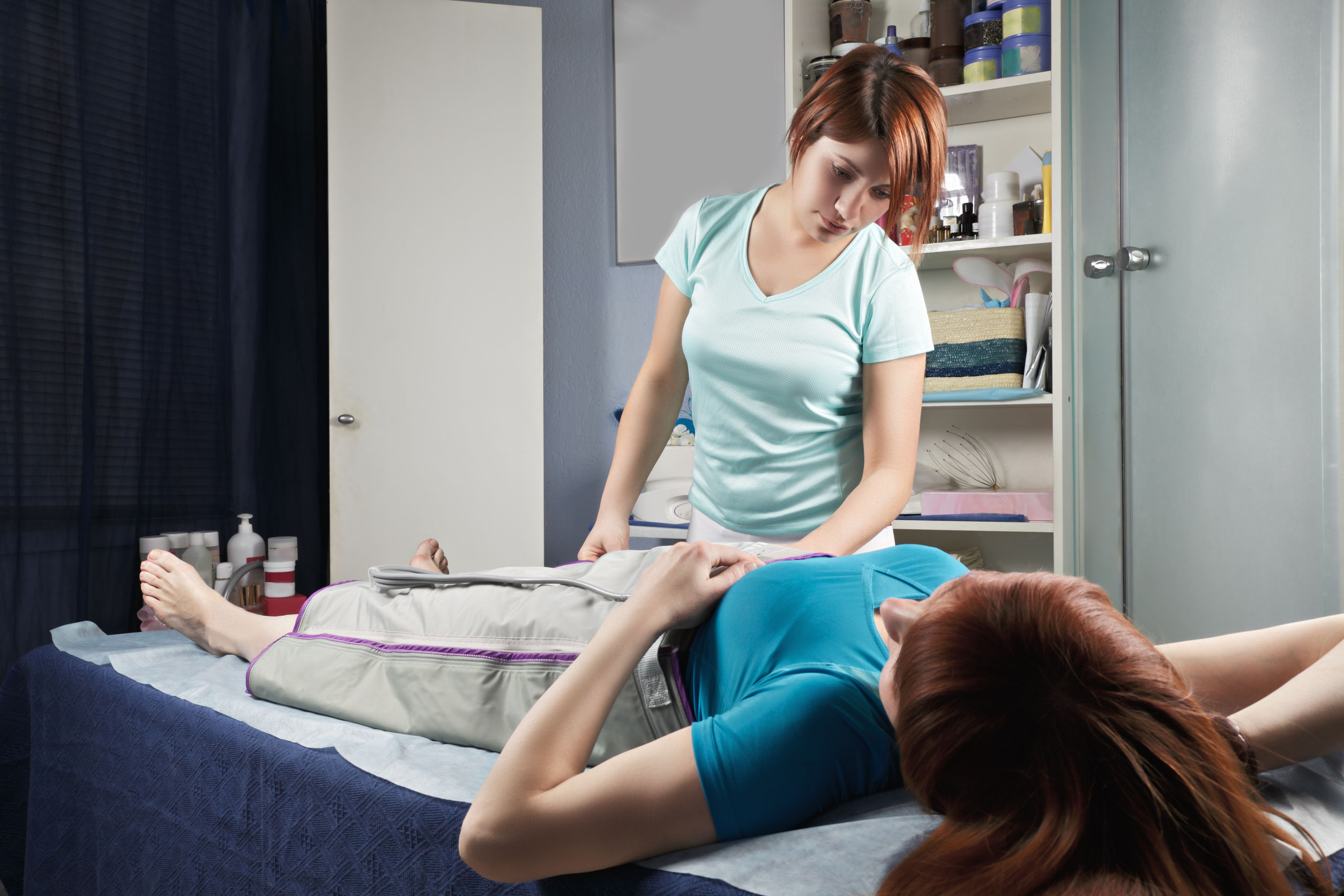 masaż pneumatyczny
