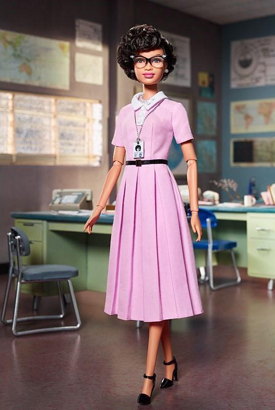 Lalka Barbie Shero Katherine Johnson