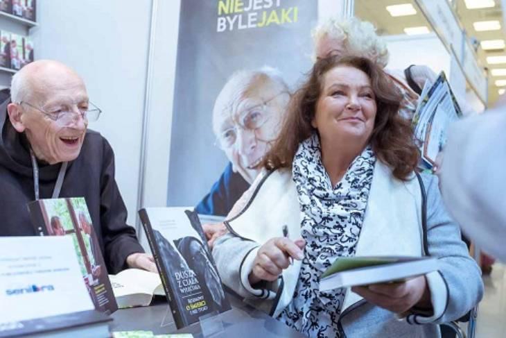 Targi seniora w Krakowie, Anna Dymna, spotkanie