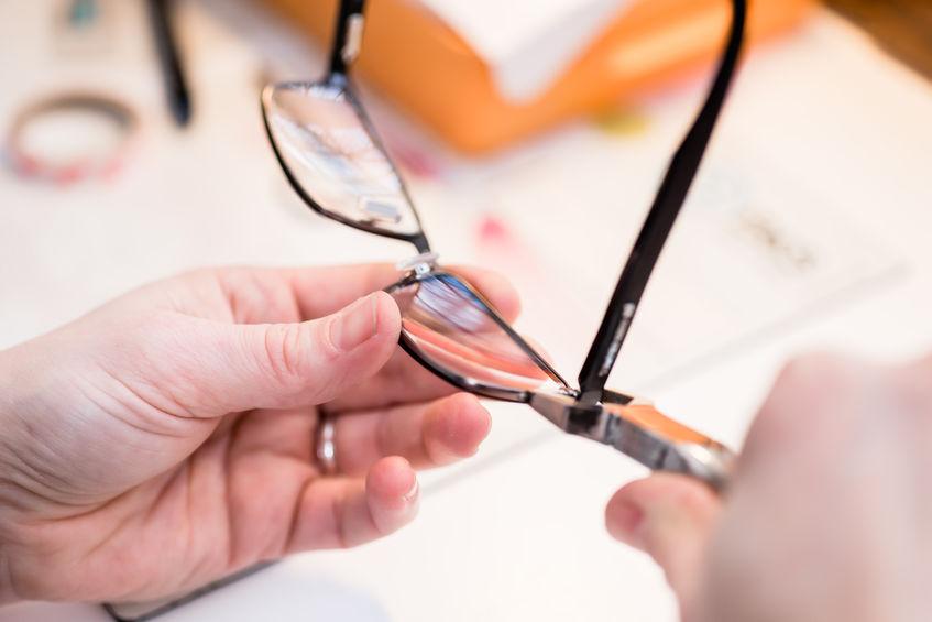 Wymiana szkieł w okularach
