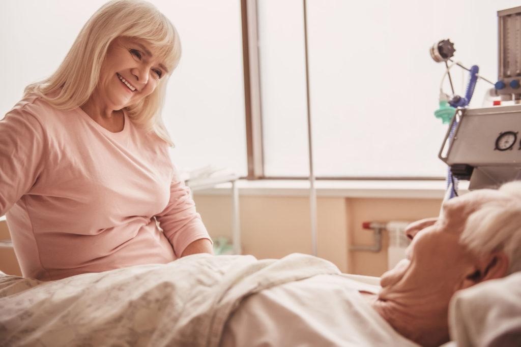 odleżyny, w szpitalu, hospitalizacja, senior, osoba starsza