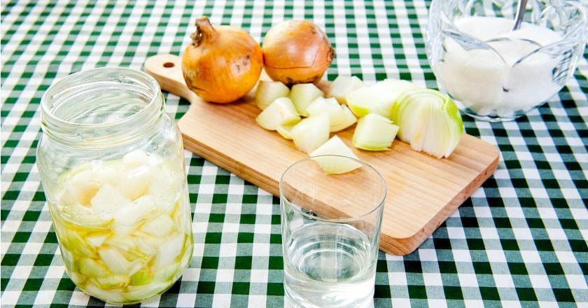 syrop z cebuli, domowe sposoby na przeziębienie