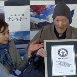 najstarszy mężczyzna na świecie - Masozo Nonaka