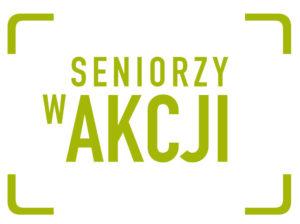 Logo Seniorzy w akcji